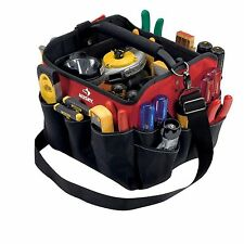 10 in. All-Purpose Tool Bag Organizer Tote Electrician Contractor Pocket Storage