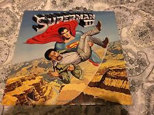 VINTAGE WARNER BROTHER RECORDS SUPERMAN III 3 SOUNDTRACK KEN THORNE