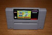 Tiny Toon Adventures Buster Busts Loose Super Nintendo SNES Game Tested Working