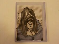 Original GI Joe Comic Art Sketch Card by John Stinsman ZARTAN Dreadnok