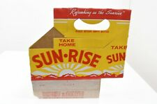 Sun Rise Six Pack Carbboard Bottle Carrier