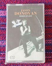 Jason Donovan ~ Mission Of Love ( Malaysia Press ) Cassette
