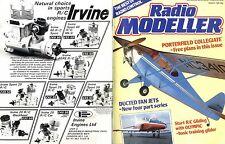 RADIO MODELLER MAGAZINE 1985 MAR PORTERFIELD COLLGIATE PT2 FREE PLANS