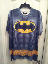Mens-Size-XL-T-Shirt-Batman-Utility-Belt-Short-Sleeves-Polyester-DC-Comics-NWOT