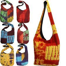 Bolso Batik Bolsa Bolso de Hombro Colorido Goa Hippie Bandhani 2