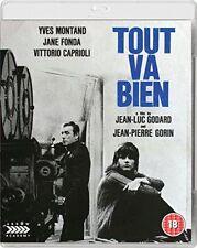 TOUT VA BIEN di Jean Luc Godard con Yves Montand BLURAY+DVD in Francese NEW .cp