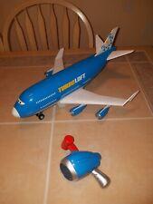 Rare Disney Pixar Cars 2 Everett Turboloft Rc Jet Plane Transporter With Remote