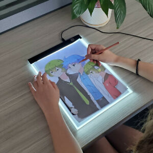 Children's Toy Painting Educational A4 Level Dimmable Led Drawing Copy Pad Board
