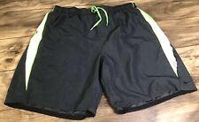 Nike Men's Size XXL Board Shorts/Swim Trunks: Green, Gray, Black, White