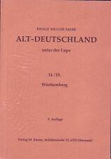Altdeutschland sous la loupe-wurtenberg