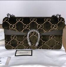 8a6cdbb394d4ba GUCCI- Super Mini Dionysus Velvet Shoulder Bag 100% Authentic NWT