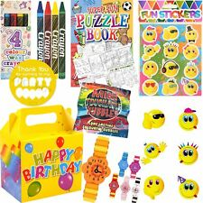 Kids Pre Filled Childrens Girls Party Bags Boxes For Birthday Gifts V15