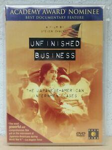 Unfinished Business DVD War Documentary WW2 Japanese Steven Okazaki VERY RARE