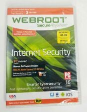 -NEW- WEBROOT Secure Anywhere Internet Security Plus (3 Devices) PC/MAC/MOBILE