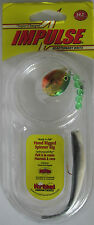 "Northland Tackle IMPULSE® Rigged 3"" Minnow - Gold Perch     NEW!"