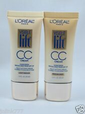 New 2x Loreal Visible Lift ® CC Cream-Light & Medium
