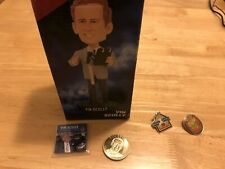 Vin Scully 2013 Los Angeles Dodgers LEGENDARY ANNOUNCER Bobblehead & Coin!!