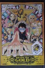 JAPAN NEW One Piece Film Gold Official Movie Guide Backstage Pass Book