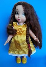 "Disney Princess Beauty & the Beast Animators BELLE 16"" Toddler Doll Dressed"