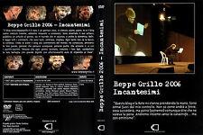 BEPPE GRILLO 2006 INCANTESIMI-LIBRO+2 DVD+COFANETTO-CASALEGGIO ASSOCIATI ED