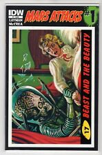 """Mars Attack Issue #1 """"17 Beast ad the Beauty"""" IDW Comics (1st Print) NM"""