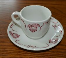 Charlie's Cafe Exceptionale Restaurant Minneapolis Demitasse coffee cup saucer