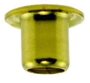 """(4) 3/32""""x5/32"""" SE3-5 hollow Brass EYELETS Compatable for O Gauge  Trains  Parts"""