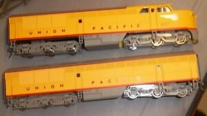 Proto 1000 Erie Built diesels, UP #652 and B Unit Great Shape