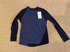 Men's Lululemon Focal Point Long Sleeve Top - Medium Blue Gym £75