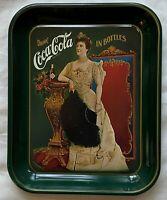 CocaCola 75th Anniversary Metal Tray - Reproduction 1975 Atlanta Bottling Co.