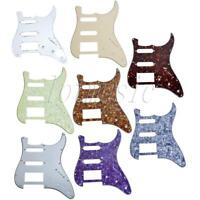 Electric Guitar Pickguards HSS For Fender Strat Stratocaster Parts 8 Pcs