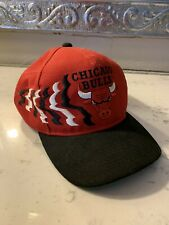 Vintage 80s 90s Chicago Bulls Snap Back Hat NBA Collectible