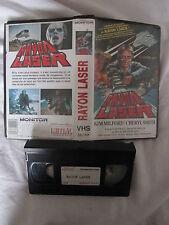 Rayon laser de Michael Ray, VHS, SF/Horreur, RARE INEDIT DVD!!