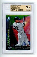 Aaron Judge 2017 Bowman Chrome Scouts Top 10 Green Refractor 36/99 BGS 9.5