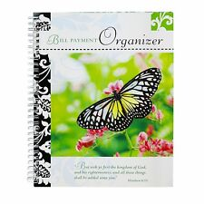 Gifts Plus Bill Payment Organizer Book - Butterfly Cover