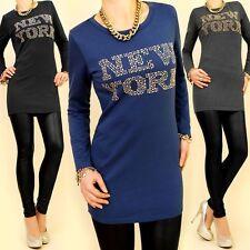 Markenlose figurbetonte Damenblusen, - tops & -shirts aus Baumwollmischung