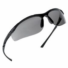 811779ebd58e3a Lunettes de Protection Bollé Safety CONTOUR Oculaires fumés noir CONTPSF