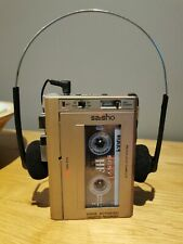 Saisho TR50 Voice Recorder Cassette Tape Player Voice Activated *Working*