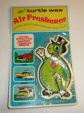 Vintage 1978 Turtle Wax Air Freshener - NEW SEALED For Car Boat Trailer Antique