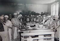 Finnish women making pasties, Calumet (UP) Michigan, recipe included.
