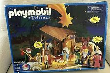 Playmobil Nativity 5958 Christmas Manger Set Excellent Used ConditionRead