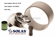 Solas SeaDoo 4Tec 215 Impeller SRX-CD-13/18 w/ Wear Ring & Tool GTX RXP RXT Wake