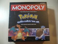 Monopoly Pokemon Game Stop Exclusive Kanto Edition, board game, Brand New Sealed