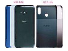 Glass Back Battery Door Cover Replace For HTC U11 Life+Camera Lens/HTC U12 Life
