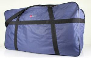 Extra große XXL Reisetasche Sporttasche Saunatasche blau ca. 82 x 47 x 35