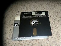 "Theatre Europe Commodore 64/128 C64 Game on 5.25"" disk"