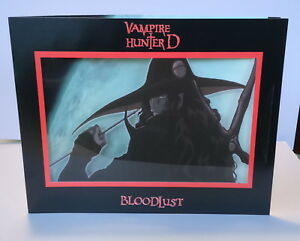 Vampire Hunter D Bloodlust promo cybercene cel 3D 2002 Great gift!