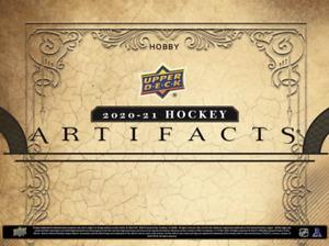 NEXT WEEK! 20-21 Upper Deck Artifacts HOBBY Box + 20-21 Tin BREAK- SELECT TEAM