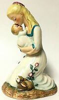 "Vintage Goebel Charlotte Byi Mother Embracing Child 8"" Collectible Figurine 1959"