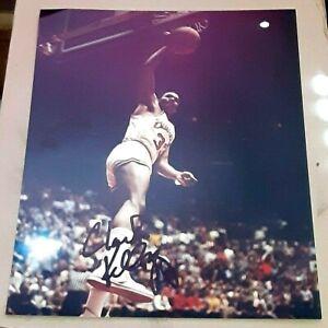 Clark Kellogg Ohio State Buckeyes SIGNED AUTOGRAPHED 8x10 Photo COA Basketball